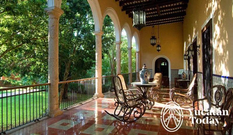 Hacienda Sotuta de Peon pasillo