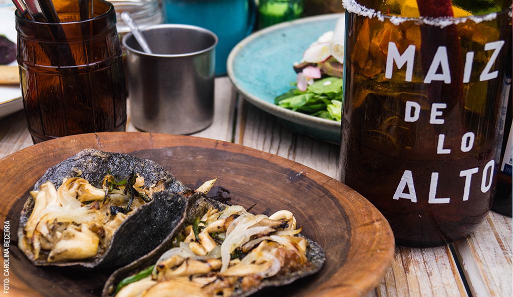 Maíz de lo Alto, a gastronomical, cultural and sensory experience