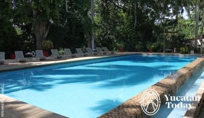Hacienda Chichen Piscina Alberca Pool by Violeta H Cantarell