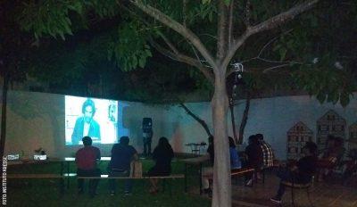 Open Air Cinema Insituto Kresse
