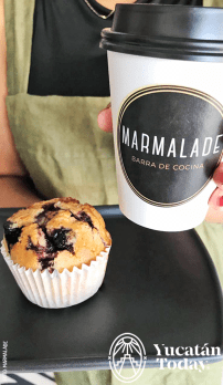 Marmalade Coffeee and Muffin by Marmalade