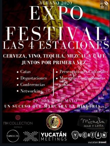 Get Ready to Live the Las 4 Estaciones Festival - Yucatan Today