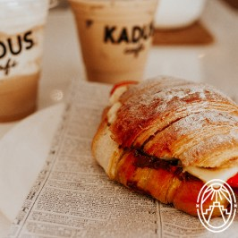 Frappe-Cafe-Crossaint-Kadus-pet-friendly-by-Nora-Garrett