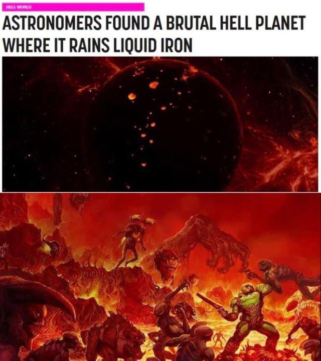 Doom in real life