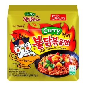 Samyang - Hot Curry Chicken Flavor Ramen Noodles