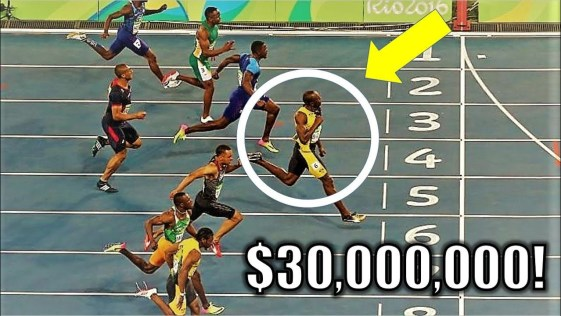 $30,000,000 in 3 Minutes || Usain Bolt