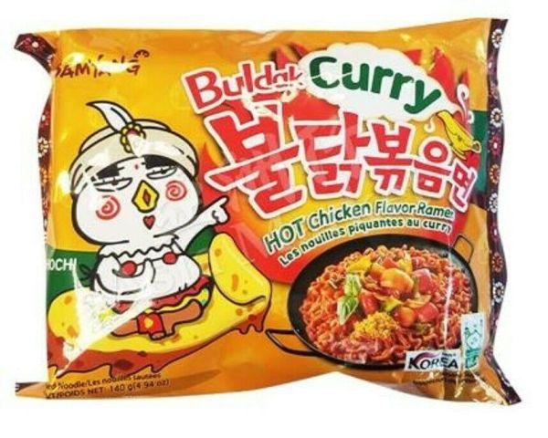 Samyang - Hot Curry Chicken Flavor Ramen Noodles