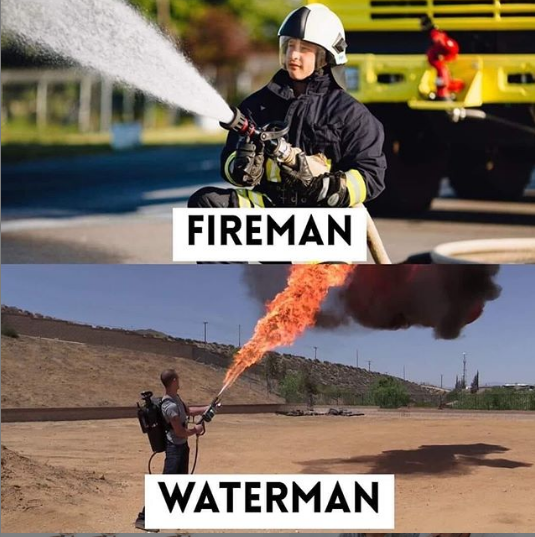 FireMan vs WATER Man