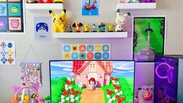 Pikachu Gaming Computer Desktop Theme Setup