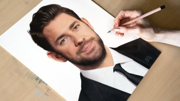 Drawing John Krasinski