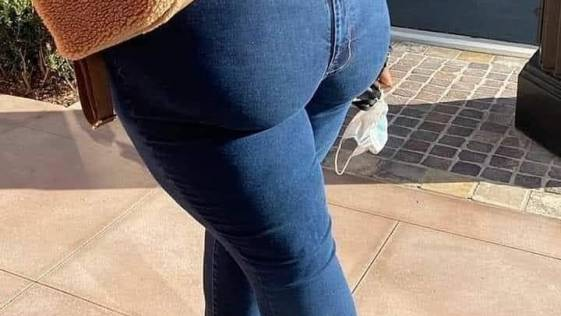 Optical Illusion - When they carrying booty in the FRONT!