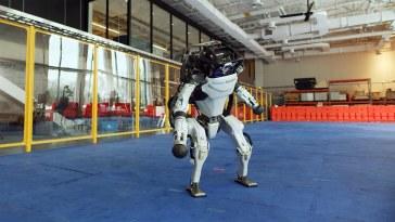 Boston Dynamics Robot Dance to Do You Love Me?