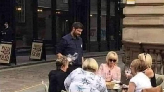 When the Karen's are having lunch