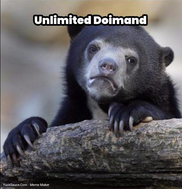 Unlimited Doimand