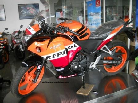 Honda CBR250 repsol edition