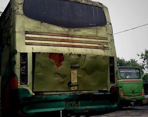 pengalaman kecelakaan naik bis