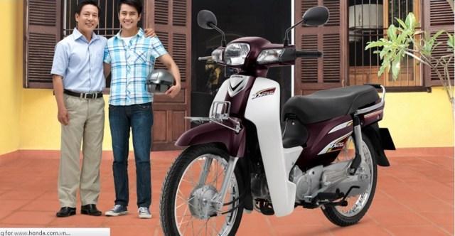 Honda super dream vietnam
