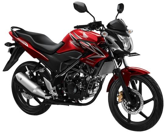"""Ciri khas motor sport Honda AHM, diameter fork depannya """"kecil"""""""
