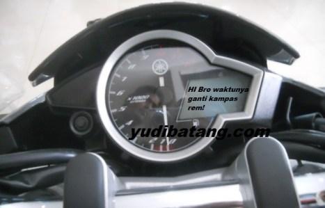Speedo meter Yamaha New Vixion Lighting