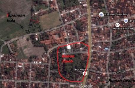 peta lapangan balapulang