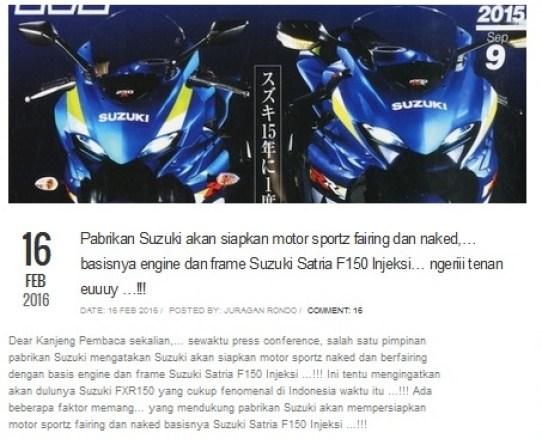 artikel motor sport baru Triatmono