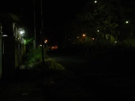 jalan-cigundul plumbon cirebon malam hari