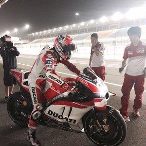 Casey stoner test Qatar 2016