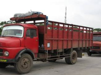 lokasi parkiran truk