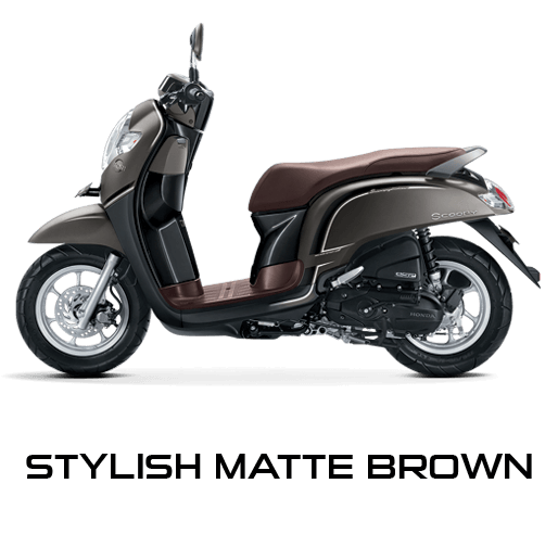 desain Honda scoopy