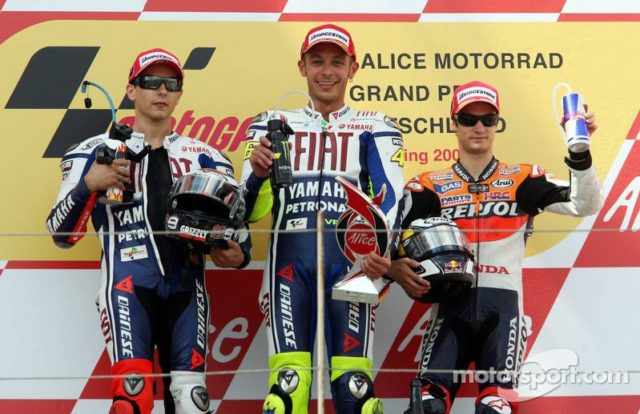 Rossi dan motogp Jerman