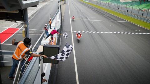 Mario SA juara balapan Asia Talent Cup Malaysia