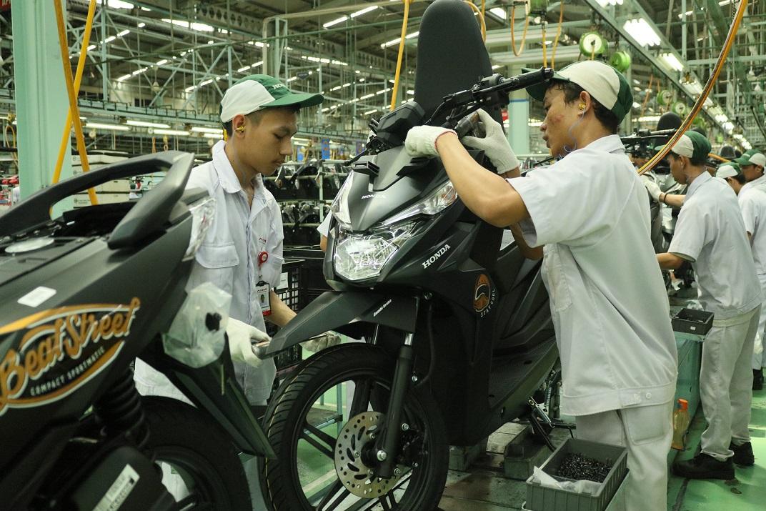 Penjualan sepeda motor Januari 2019 : Honda dominasi dengan 77.5 % market