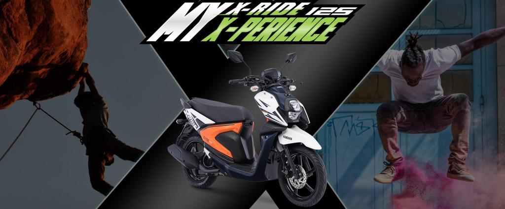 Ekspresikan Dirimu Bersama All New Yamaha X-ride 125