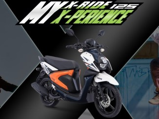 all new yamaha x-ride 125