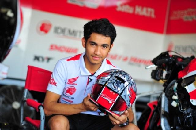 pembalap indonesia andi glang balap dimoto2