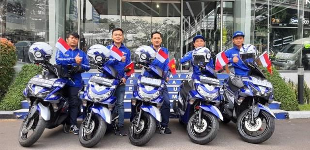 5 biker yamaha touring