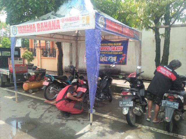 servis motor gratis yamaha