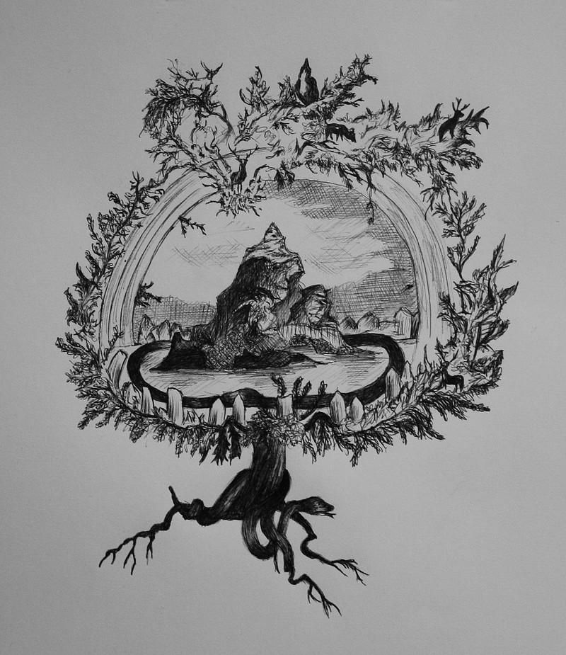 Yggdrasil - The World Tree of the Norsemen (2/6)