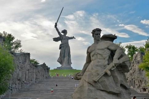 Символы Волгограда