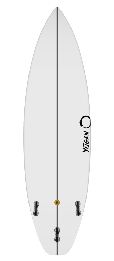 IKi Shortboard Bottom View