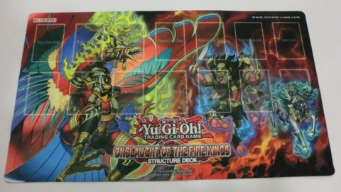 Yu Gi Oh Trading Card Game 187 New Game Mat 3 Onslaught