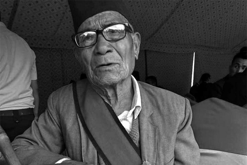 पुराना कम्युनिस्ट नेता तथा पुर्व सांसद बरमन बुढाको निधन