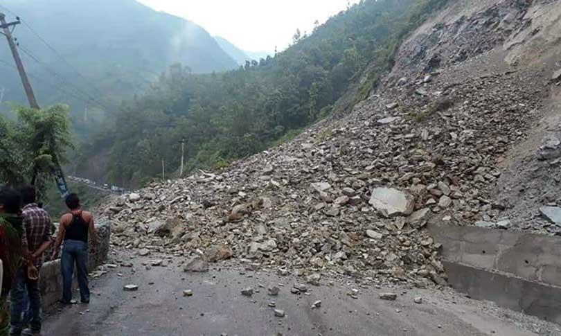 नारायणगढ–मुग्लिन सडक फेरि अवरुद्ध