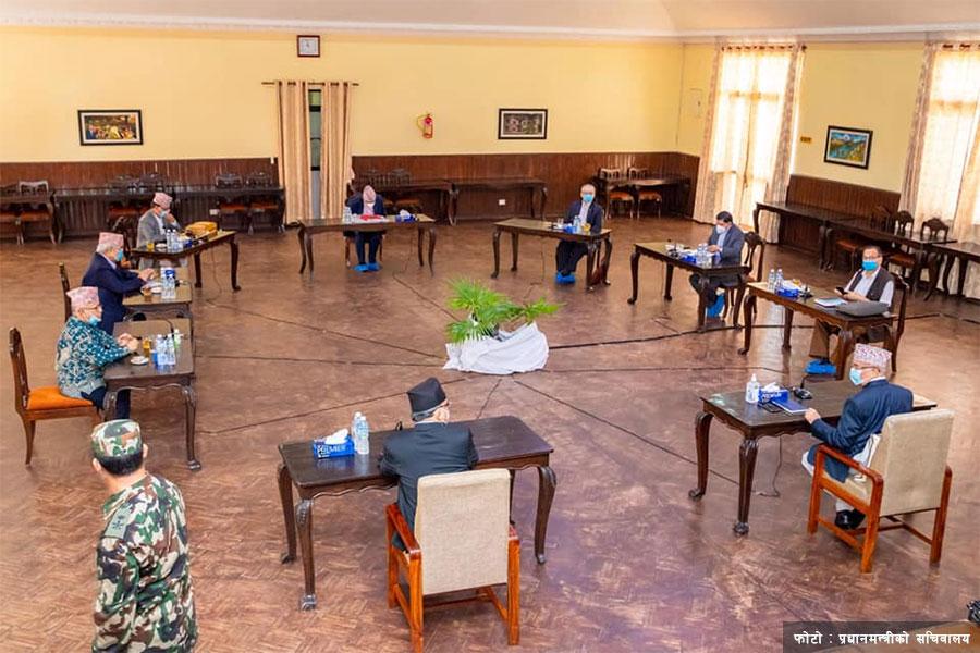 नेकपाको सचिवालय बैठक भोलि
