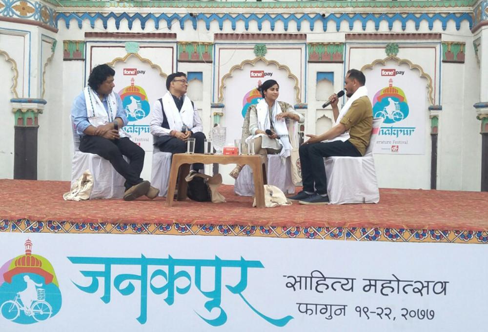 जनकपुर साहित्य महोत्सव : दोस्रो दिन ५ सत्रमा छलफल