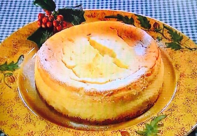 栗原はるみの失敗しないチーズケーキ