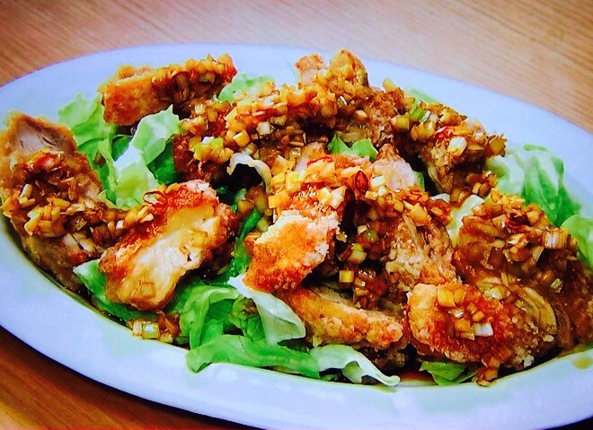 栗原はるみの揚げ鶏のねぎソース/きょうの料理