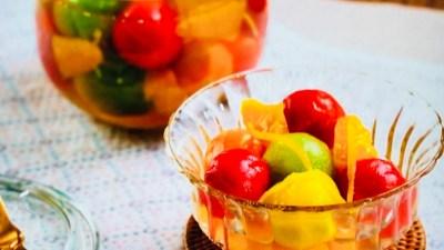 秋元さくらのミニトマトとオレンジのピクルス