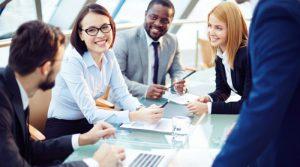 コミュニケーション能力を向上させる事でビジネスもスムーズにいく。ビジネスコミニュケーションのイメージ