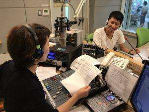 FMチャッピー藤井千代美がパーソナリティを務める番組のゲスト、整体院心和の金子育司さん